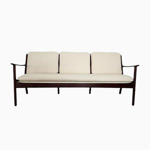 PJ 112 Three-Seater Sofa by Ole Wanscher for Poul Jeppesen, 1951