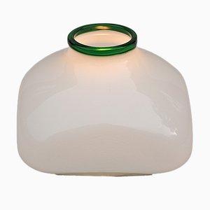 Vintage Opalglas Lampe von Ettore Sottsass für Vistosi