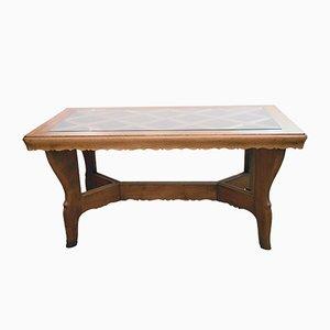 Handmade Solid Oak Table from Atelier Borsani, 1940s