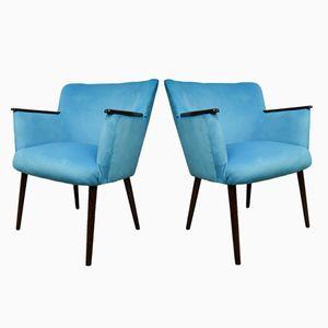 German Club Chairs, 1970s, Set of 2