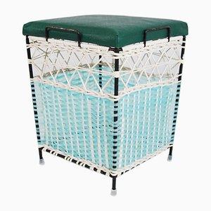 Polnischer Sessel aus Korbgeflecht, 1960er