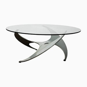 Vintage Propeller Coffee Table by Knut Hesterberg for Ronald Schmidt