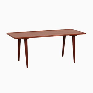 Danish AT 11 Teak Coffee Table by Hans J. Wegner for Andreas Tuck, 1950s