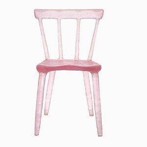 Chaise Pink Glow par Kim Markel, 2017