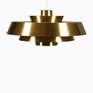 Vintage Nova Suspension Lamp by Jo Hammerborg for Fog & Mørup