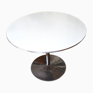 Vintage White Table by Verner Panton for Fritz Hansen