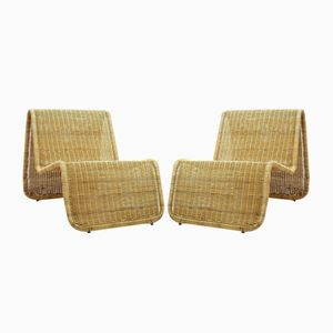 Swedish Lounge Chairs from Ikea, 1970s, Set of 2