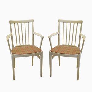 Vintage Herrgården Armlehnstühle von Carl Malmsten für Bodafors, 2er Set