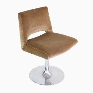 French Velvet Tulip Chair, 1970s