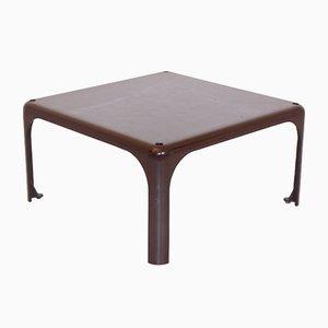 Brown Demetrio 45 Coffee Table by Vico Magistretti for Atemide, 1960s