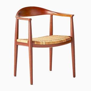 Vintage JH-501 The Chair by Hans J. Wegner for Johannes Hansen