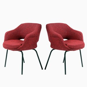 Pair of Small Armchairs by Cassina, 1960s, Set of 2