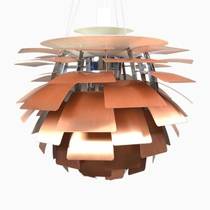 Mid-Century PH Artichoke Copper Lamp by Poul Henningsen for Louis Poulsen