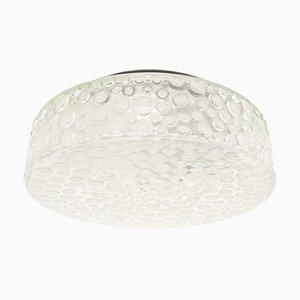 Applique in vetro a bolle smerigliato di Limburg, anni '60