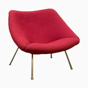 Vintage Oyster F157 Chair by Pierre Paulin for Artifort