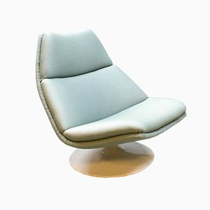 F511 Swivel Shell Chair by Geoffrey Harcourt for Artifort, 1960s