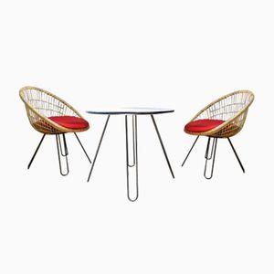 designer gartentische online kaufen bei pamono. Black Bedroom Furniture Sets. Home Design Ideas