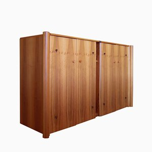 Vintage Hand-Crafted Scuderia Sideboard by Carlo Scarpa for Bernini