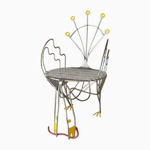 Pavone Stuhl von Riccardo Dalisi für Zanotta, 1984