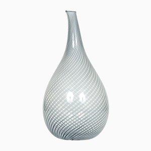 Vase von Edward Hald für Orrefors, 1954