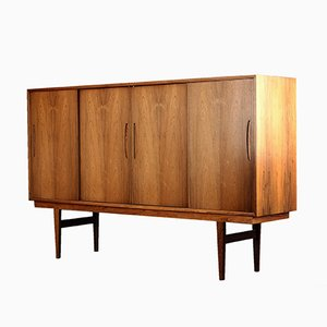 Danish Mid-Century Palisander Highboard, 1960s