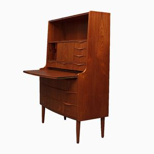 Danish Teak Secretaire, 1950s