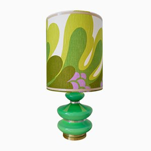 Flower Power Style Table Lamp, 1970s