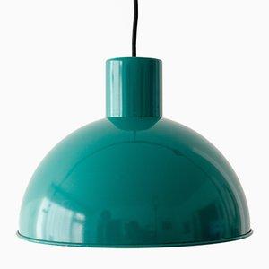 Grüne Vintage Midi Bunker Lampe von Johannes Hammerborg für Fog & Mørup, 1960er