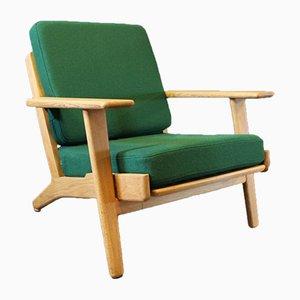 Model GE290 Armchair by Hans J. Wegner for Getama, 1960s