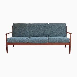 Skandinavisches Modell 118 Teak Sofa von Grete Jalk für France & Søn, 1960er