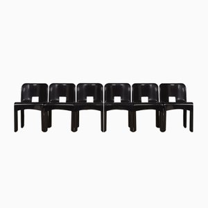Vintage Universale 4867 Chairs by Joe Colombo for Kartell, Set of 6
