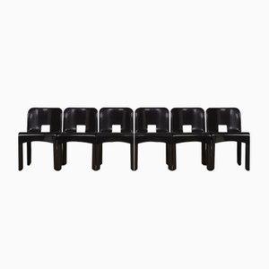 Vintage Universale 4867 Stühle von Joe Colombo für Kartell, 6er Set