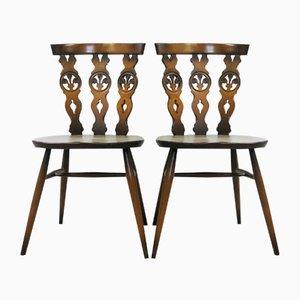 Windsor Stühle von Lucian Ercolani für Ercol, 1970er, 6er Set