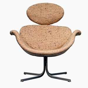 First Edition F551 Big Tulip Wool Chair by Pierre Paulin for Artifort, 1959