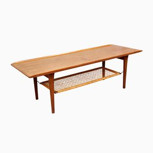 Teak Coffee Table by Hans J. Wegner, 1960s