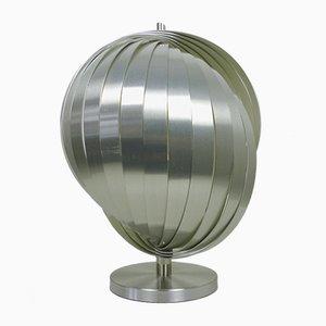 Französische Lamellen Lampe von Henri Mathieu für Mathieu Lighting, 1970er