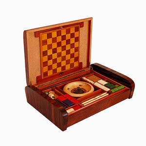 Florentine Art Deco Game Box, 1930s