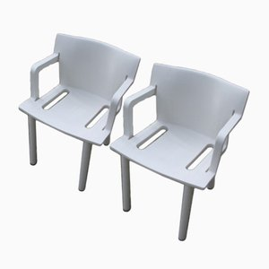 Kartell Garden Furniture Italian modern garden chairs online at pamono white chairs by anna castelli ferrieri for kartell 1980s set of 2 workwithnaturefo