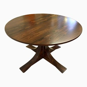 Italian Rosewood Dining Table, 1950s