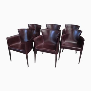Vela Armchairs By Carlo Bartoli For Matteo Grassi, 1993, Set Of 6