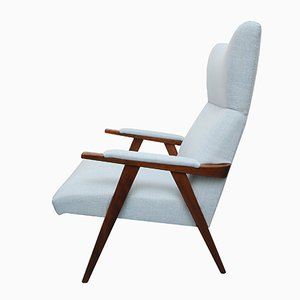 Vintage Highback Lounge Chair, 1950s