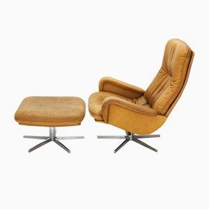 DS-50 Sessel & Hocker von DeSede, 1960er