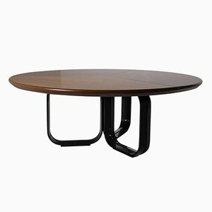 Italian Dining Table by Ico Parisi for MIM, 1970s