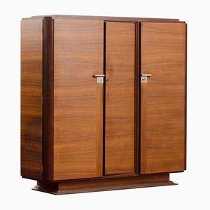 Vintage Art Deco Rosewood Veneer Cabinet