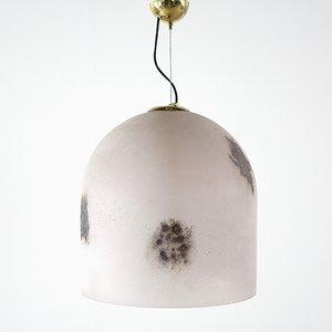 Lampada da soffitto Mid-Century di Barbini