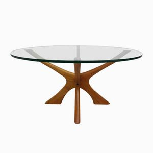 Mid-Century Coffee Table by Illum Wikkelsø for Søren Willadsen