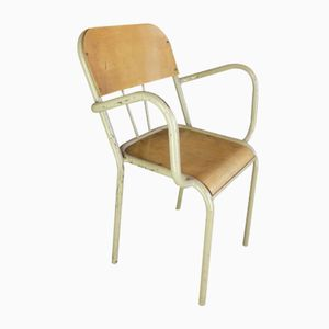 School Chair with Armrests, 1960s