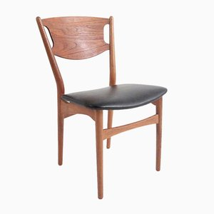 Danish Mid-Century Dining Chairs by Helge Sibast