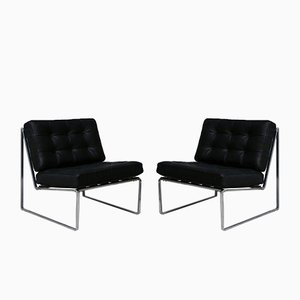 Vintage Lounge Chairs by Kho Liang le for Artifort, 1960s, Set of 2