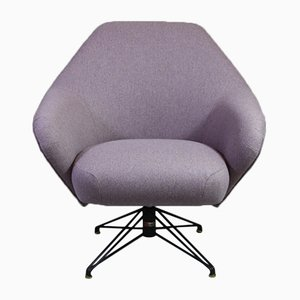 Vintage P32 Swivel Chair by Osvaldo Borsani for Tecno